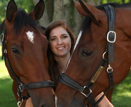 Annie Peavy with Ozzie Cooper & Lancelot Warrior (Photo Katrina Hajagos)