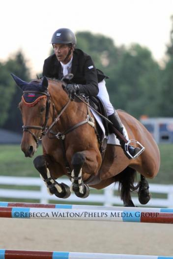 Pablos Barrios is an Olympian, four-time FEI World Equestrian Games participant, 2011 FEI World Cup Final participant, three-time participant of the Pan American Games and three-time Hagyard Challenge Series Leading Rider Bonus winner. (c) Rebecca Walton/Phelps Media Group