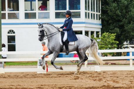 Pati Pierucci and El Espirit (Photo: Ben Johnson/JC Andalusians)