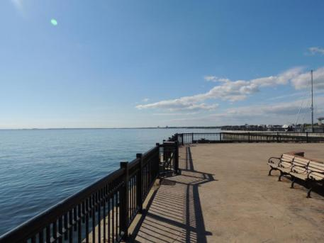 The breathtaking waterfront in downtown Pensacola.