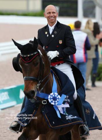 Steffen Peters and Rosamunde (Photo: Mary Phelps)