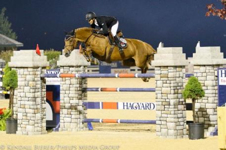 Ramiro Quintana and Whitney won the $34,000 Hagyard Lexington Classic CSI2*