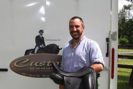 Custom Saddlery is pleased to add Michael Rucci to their team of fitters