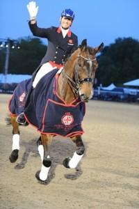 Carl Hester and Nip Tuck go two for two after winning the Grand Prix and Freestyle at the Royal Windsor Horse Show