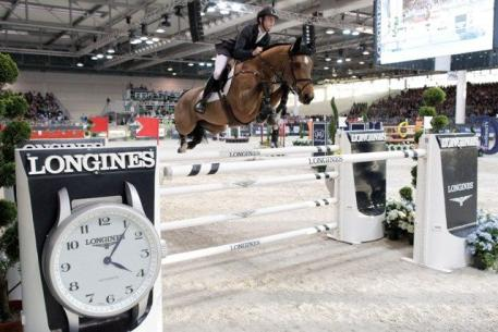 Great Britain's Scott Brash who has maintained the No. 1 spot on the Longines world rankings for the last 12 months.