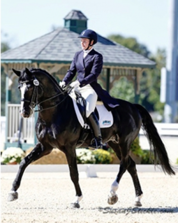 Emily Wagner can't wait to return to Kentucky in November for the US Dressage Finals. Photo by Susan J Stickle