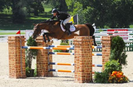 Sharn Wordley on Popstar Lozonais soar to victory in the 1.40m and aim for the upcoming grand prix.