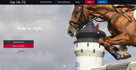 ShopChic EQ is the newest way to buy and sell used equipment, apparel and accessories, is now open for business.