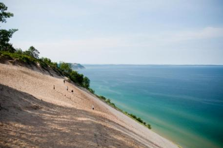 Nearby Sleeping Bear Dunes was voted America's most beautiful place by the viewers of ABC's Good Morning America.