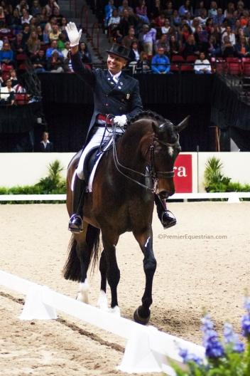 Premier Equestrian Steffen Peters and Legolas 92 are ranked ninth in the FEI World Individual Dressage Rankings