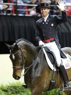Steffen Peters and Legolas 92 will represent the US at the 2015 Pan American Games (Photo: Mary Phelps)