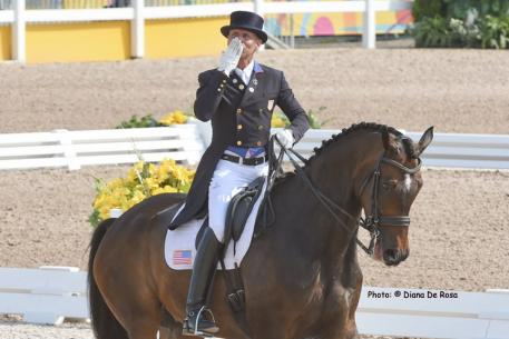 Steffan Peters and Legolas 92, saving the best for last in the Grand Prix Dressage at the Pan American Games 2015 . Photo: Diana De Rosa