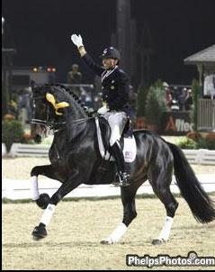 Steffen Peters and Ravel will once again perform at the Central Park Horse Show