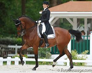 Stephanie Brieussel and Amorak photo: eurodressage