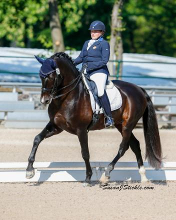 Susan Treabess and Kamiakin topped Grade IV at the 2014 USEF Para-Equestrian Selection Trials held at Gladstone in June. Photo: Susan Stickle