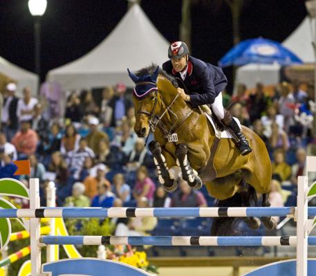 Canadian legend, Ian Millar, will fly the host nation flag when Jumping gets underway at the Pan-American Games 2015 in Caledon Park, Toronto, Canada next week. (FEI/Ken Braddick)