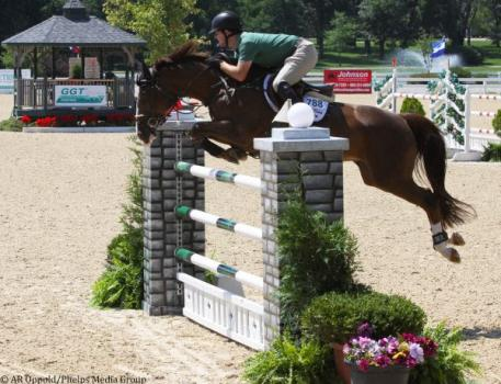 Sweetnam and Solerina jumped cleanly for third place.
