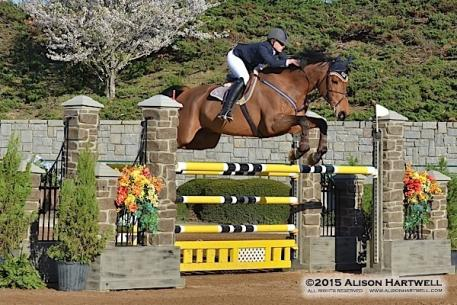 Sydney Long and her own Venchy De Bornival won their first grand prix on Saturday in the Olympic Arena!
