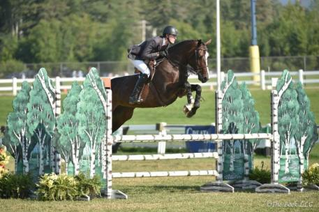 T.J. O'Mara on his way to winning the Kathy Scholl Equitation Classic (Photo: The Book LLC)