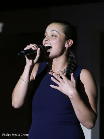 Teaghan James won the third round of AEGT auditions.