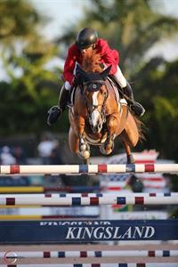 Todd Minikus (Loxahatchee, FL) will ride Two Swans Farm's Babalou 41