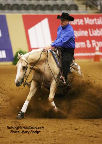 Tom McCutcheon at the 2014 KY Reining Cup (Photo by ReiningHorsesDaily.com)