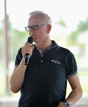 Kjell Myhre at the 2015 USEF High Performance Southeast Para Equestrian Dressage Symposium in Wellington, FL, January 12-13. (Photo: (C) Lindsay Y. McCall)