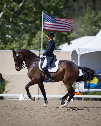 Steffen Peters and Rosamunde win the Grand Prix at the Festival of the Horse CDI (Photo: Terri Miller)