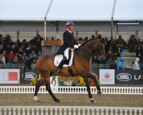 Carl Hester and Nip Tuck score third international victory at the Royal Windsor Horse Show