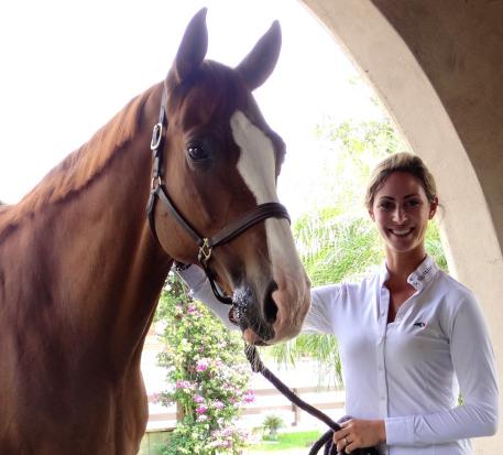 Grand Prix dressage rider Caroline Roffman's successful showing, training, and sales business will relocate to Lexington, Kentucky, for the summer