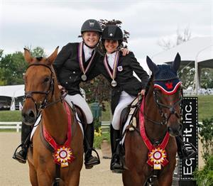 FEI Team and Individual medals will be awarded to elite competitors from across North American at the Kentucky Horse Park, July 14-19, 2015 (Photo: Brant Gamma Photography)