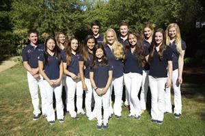U.S. vaulters heading to the FEI World Vaulting Championships for Juniors (Photo: Jerry Yang)