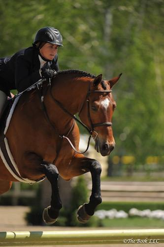 Victoria Colvin and Ovation. Photo by The Book, LLC