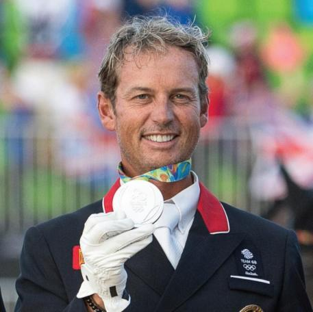 Carl Hester at the 2016 olympics