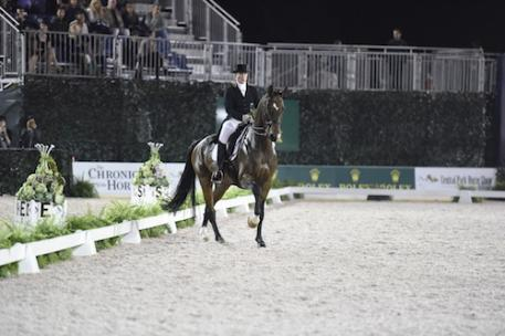 Isabell Werth and El Santo NRW. Photo Credit Kit Houghton/Rolex
