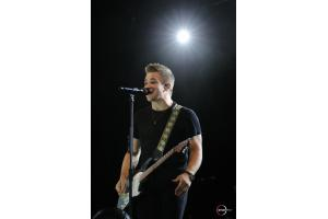 Renowned country music artist, Hunter Hayes, played for an enthusiastic crowd in Tryon Stadium.