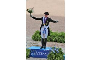 Isabell Werth Does it Again Winning FEI World Championship Dressage Gold
