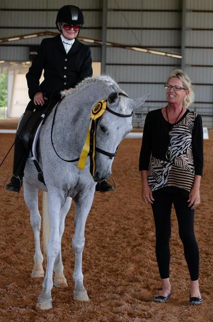 The Dressage Foundation S Century Club Welcomes Olwen