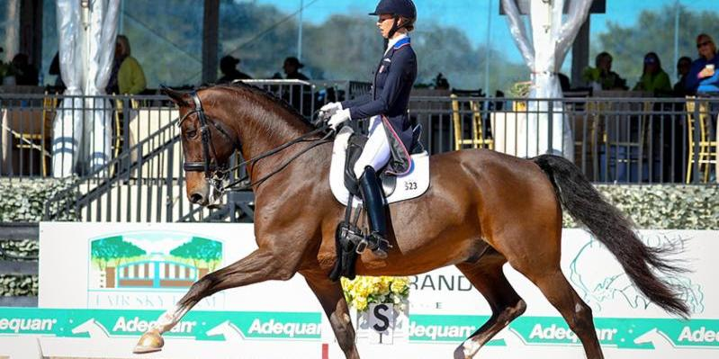 Laura Graves and Verdades won the Grand Prix CDI-W at the opening week of the Adequan® Global Dressage Festival. Photo © SusanStickle.com_.jpg
