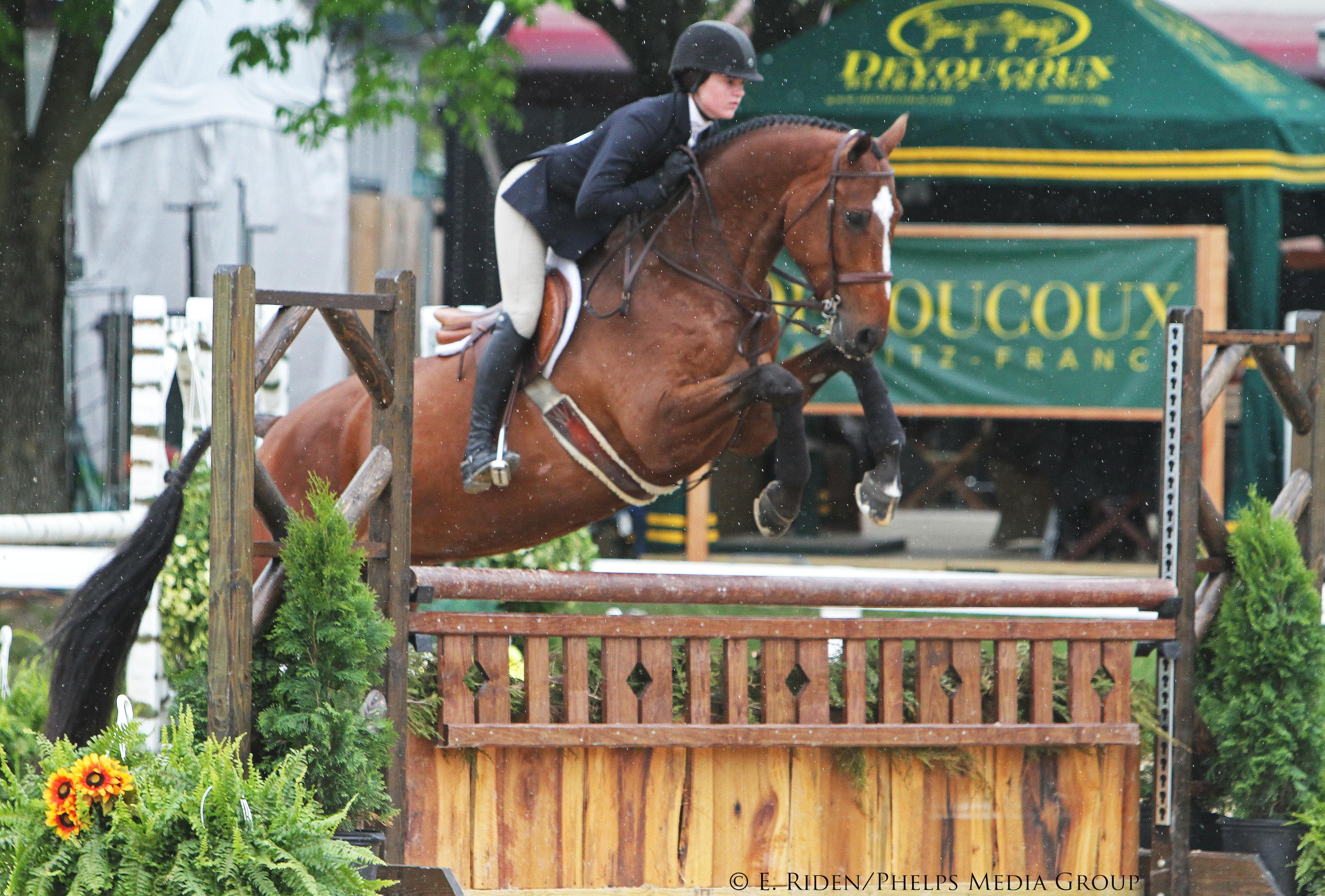 Victory for Vivian Yowan in ASPCA Maclay at Kentucky ...