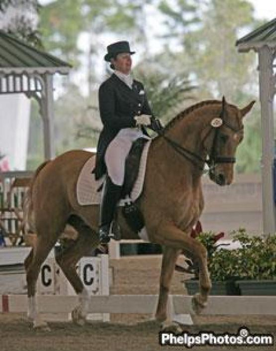 "Koffler-Stanfield and ""Kaspar"" took the win in Saturday's Grand Prix Special CDI competition at the Wellington Classic Dressage Spring Challenge with a score of 67.667 percent."