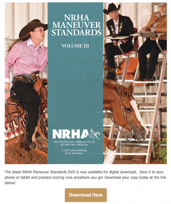 NRHA Maneuver Standards