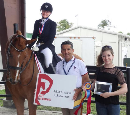Signe Kirk Kristiansen, Piaffe Performance Adult Amateur Achievement Award, Dr. Cesar Parra, Adequan Global Dressage Festival