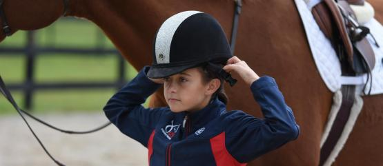 US Equestrian Helmet Safety