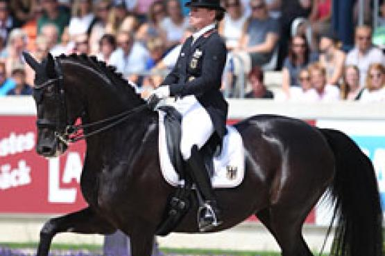 Isabell Werth was named the 2017 FEI Athlete of the Year (Photo: Eurodressage.com)