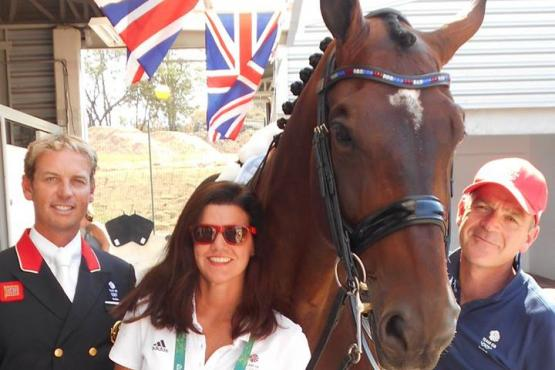Carl Hester, Jane de la mare, and Alan C Davies
