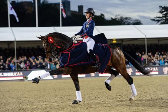 Charlotte Dujardin and the spectacular Mount St John Freestyle