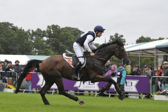 Pure class: Christopher Burton (AUS), Nobilis 18,Cross Country, Land Rover Burghley Horse Trials, FEI Classics™ 2015/2016