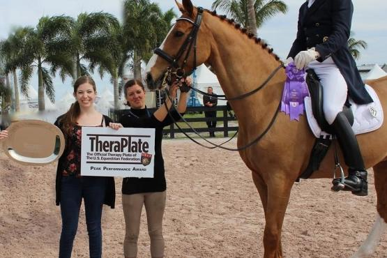 Djambo Djokiba, Michael Klimke, TheraPlate Peak Performance Award, Adequan Global Dressage Festival