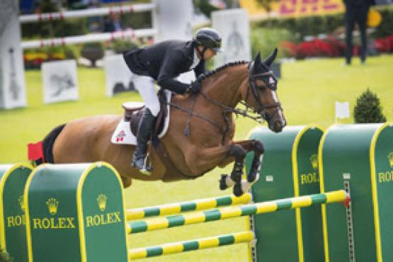 Eric Lamaze and his Rio Olympic mount, Fine Lady 5, scored their second win of the week in Aachen, Germany, taking victory in the €100,000 Prize of North Rhine-Westphalia on Friday, July 15.